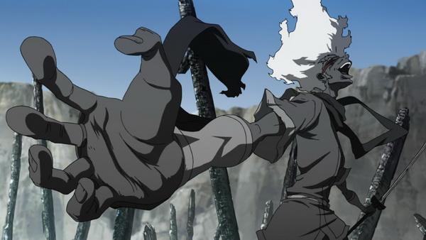 A gyáva Ninja Ninja osztja az észt.