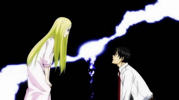 Pillanatkép az anime második évadából.