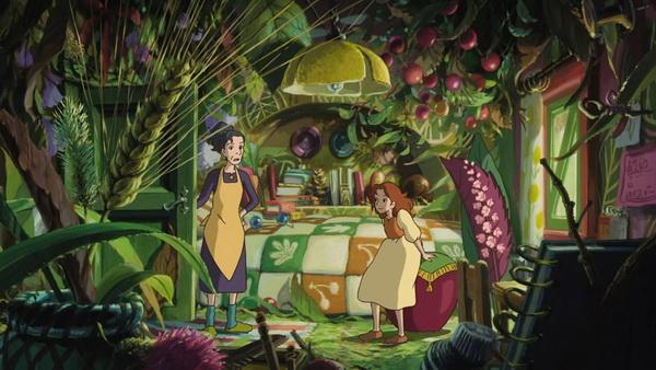 Arriettyék otthona. Gyönyörű.