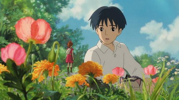 Sho és Arrietty - a méret különbség szembe ötlő. :)