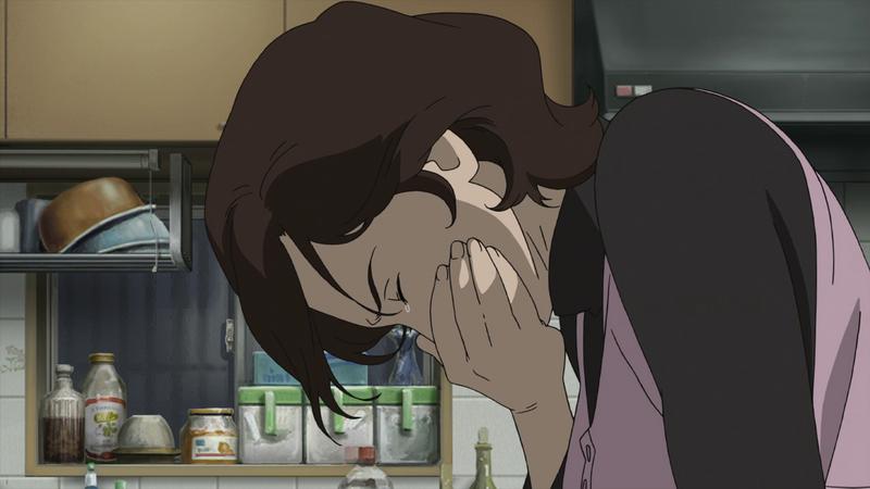 Az édesanya fájdalma, az egész animében a főhős mellett az ő vezeklése kapta a legnagyobb drámát.