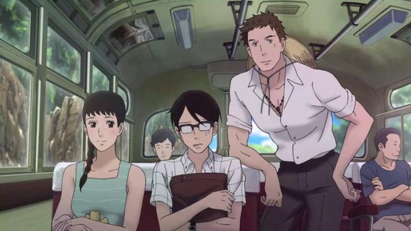 A három jó barát: Ritsuko, Kaoru és Sentarō