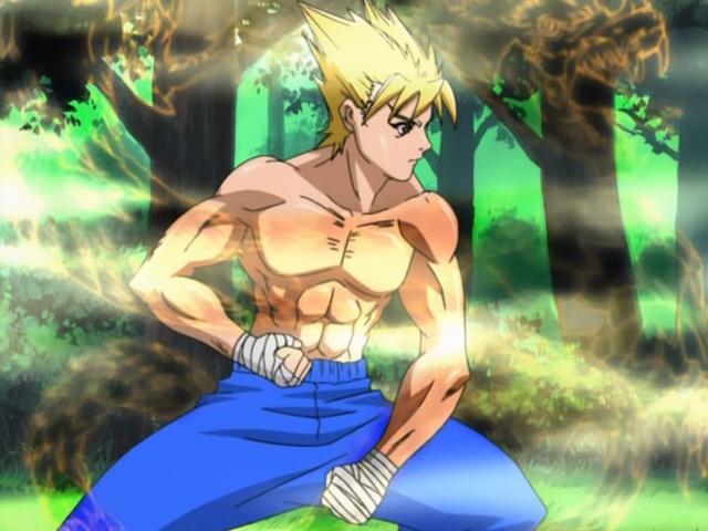 Sōichiro éppen új skillt fejleszt.