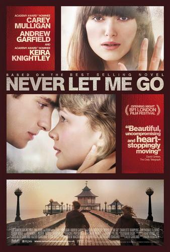 Kazuo Ishiguro: Ne engedj el / Never Let Me Go (könyv; 2005 és film; 2010)