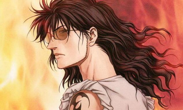 A dögös Oda Nobutaka, aki a harcban kíméletlen, elvetemült, és nagyon cool.