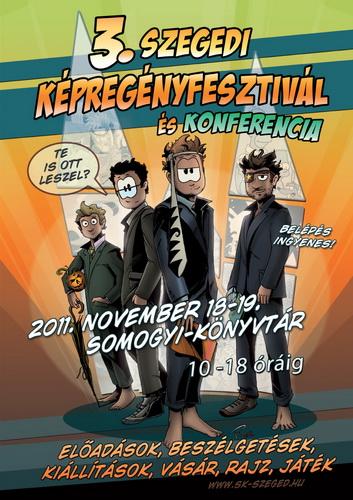 3. Szegedi Képregényfesztivál – 2011. november 18-19. (beszámoló)