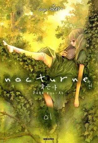 Park Eun Ah: Nocturn / 녹턴 (shōjo manhwa; 4 kötet eddig; 2008)