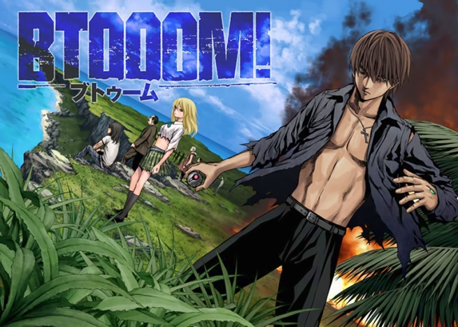 Btooom! is similar to a reailty show?