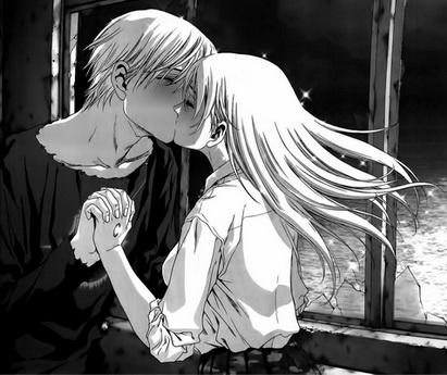 A első csók - Btooom! manga 50. fejezet
