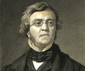 The author: William Makepeace Thackeray