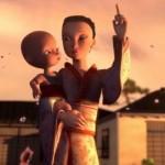 Amano animációs rendezése nyomán: Születés (Birth) / Amano grafikás CG anime