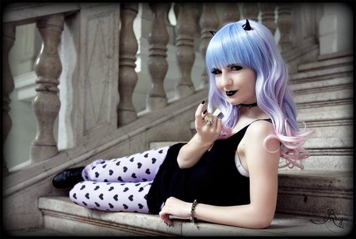 Evelyn Nightingale: Démon lány - Fotó: Bunda Gabriella