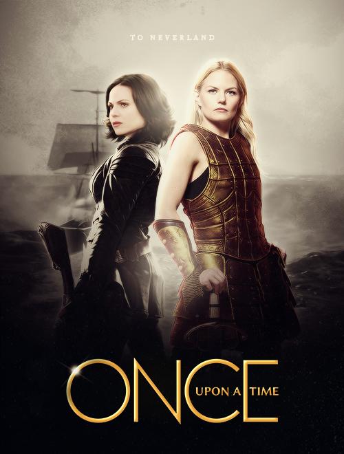 Regina és Emma a 3. évadot beharangozó poszteren.