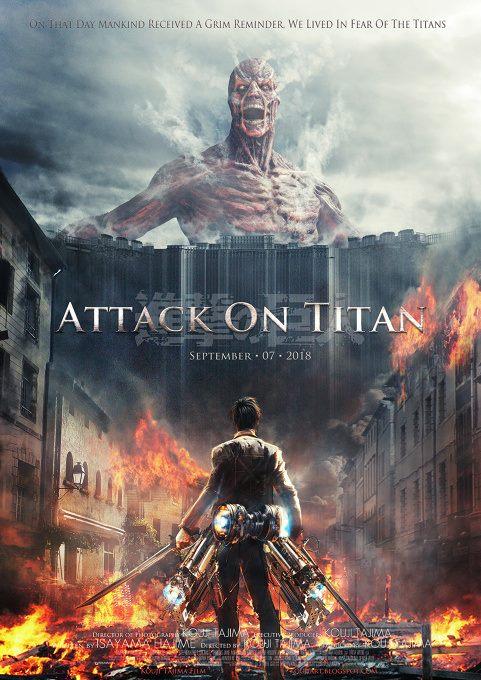 Fanok-made poszter a live-actionhóz (ez még nem az eredeti filmposzter!) 2015-re ígérik a filmet, 2014 nyáron kezdik el forgatni. Színészek castingolása még folyamatban.