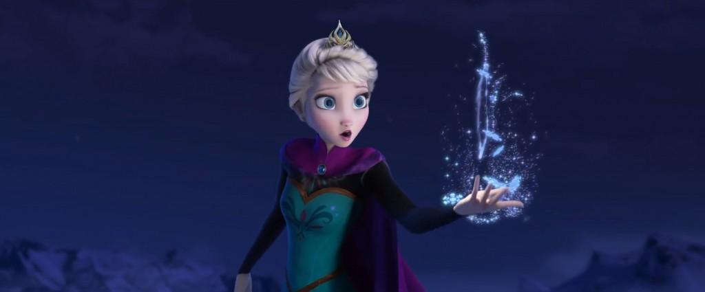 A Hókirálynő figuráját megszemélyesítő Elsa - sajnos a varázsláson és egy káprázatos dalon túl ő rá nem kacsingat a szerelem, pedig bíztam benne.