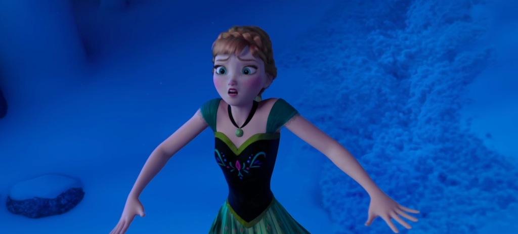 Cuki hercegnő a tudás kapujában - bár itt inkább azzal ismerkedik, hogy a jeges víznek milyen hatása van habtestére.