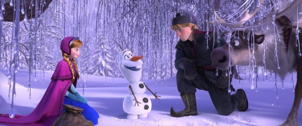 """A vadóc hercegnő, a hóember és az egyik """"szívtipró-jelölt""""."""