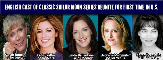 A Los Angelesi-i, 2014. július 3-6-i Anime Expo-n ott lesznek a Sailor Moon angol szinkronját adó színészek is.