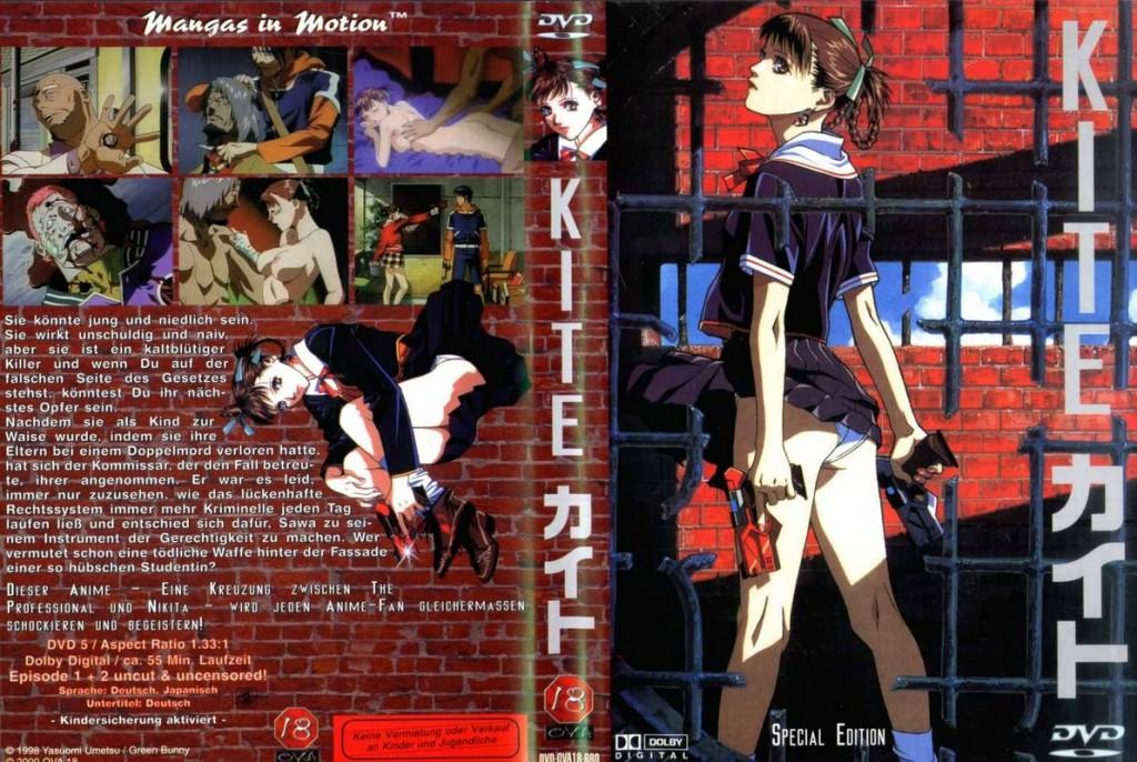 Az 1998-as Kite című anime, ami még a hentai műfajába tartozott. Umetsu itt nem kímélte a nézők idegeit: pedofil, korrupt zsaruk, nemi erőszak, agymosott bérgyilkos lány a főszerepben.