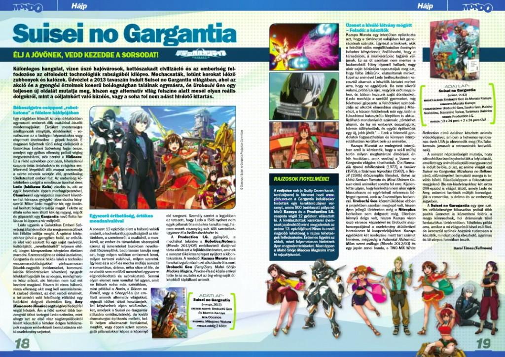 Megjelent eredetileg a Mondo Magazin 2013 októberi számában.