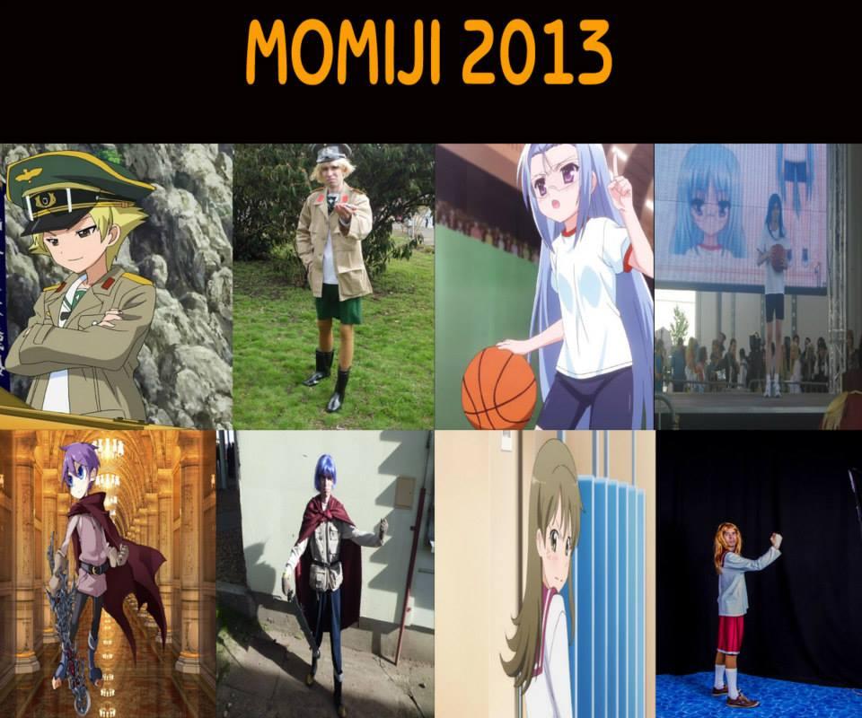 Momiji 2013-as cosplayeinek összefoglalója.