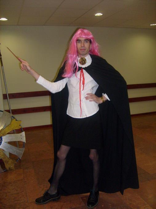 Az emlegetett Louise (2010. Október) cosplay, amivel jelölést szerzett Momiji.
