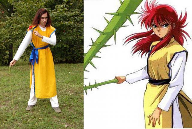 Momijit fiú karakterek is megfogták, az említettek mellett volt például Kurama is YuYu Hakushoból.