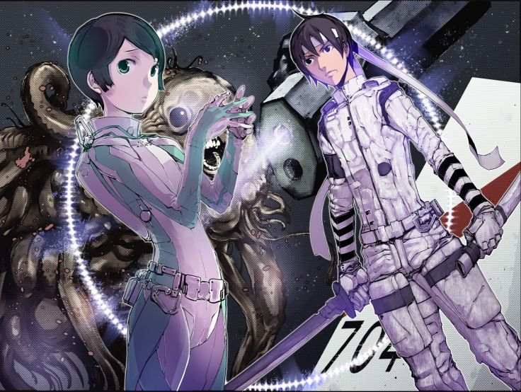 Sidonia no Kishi az anime.