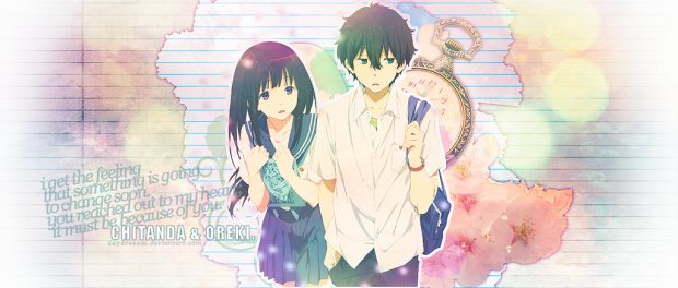 chitanda_and_oreki__by_daydreaam-d6al3hv